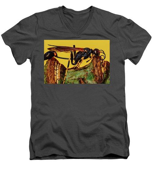 Wasp Just Had Enough Men's V-Neck T-Shirt