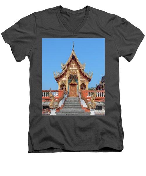 Wat Nong Tong Phra Wihan Dthcm2639 Men's V-Neck T-Shirt