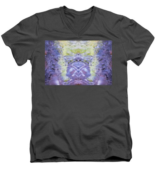 Water Ripples The Grass Men's V-Neck T-Shirt