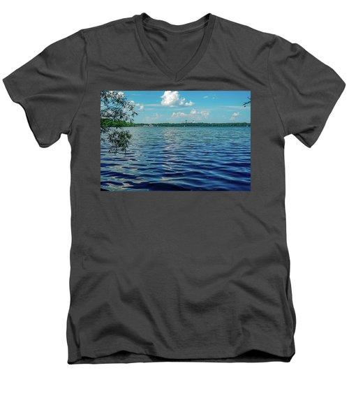Waves On Lake Harriet Men's V-Neck T-Shirt