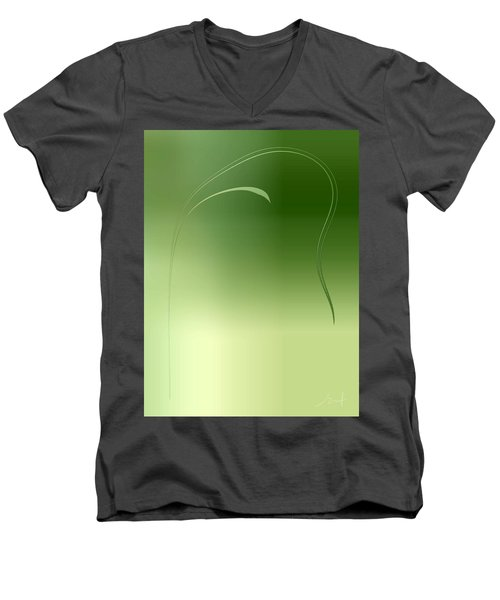 Weed Men's V-Neck T-Shirt
