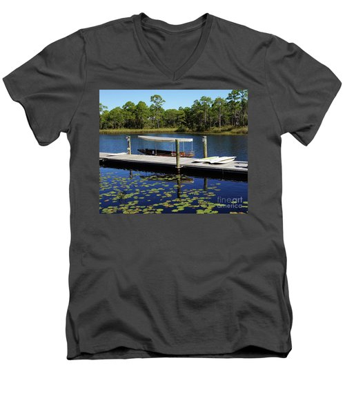 Western Lake Men's V-Neck T-Shirt
