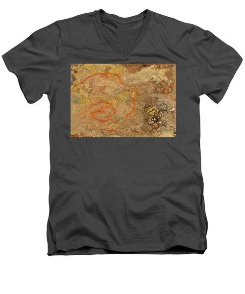 Wet Riverbed Men's V-Neck T-Shirt