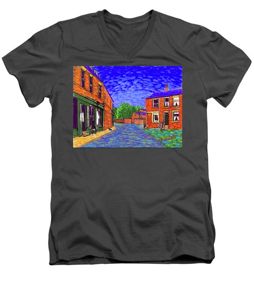 What If...vincent Went To Gildersome Men's V-Neck T-Shirt