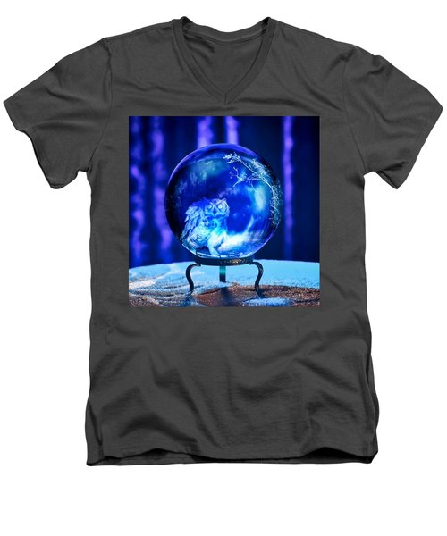 Men's V-Neck T-Shirt featuring the photograph What Is Your Spirit Animal? by Judy Kennedy