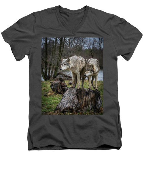 What Ya Think Men's V-Neck T-Shirt