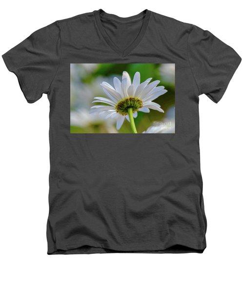 Fresh As A Daisy Men's V-Neck T-Shirt