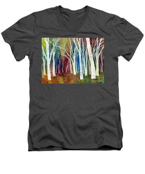 White Forest I Men's V-Neck T-Shirt