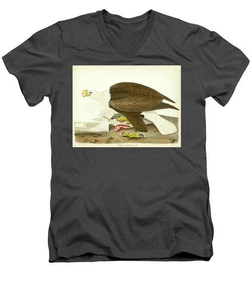 White-headed Eagle Men's V-Neck T-Shirt
