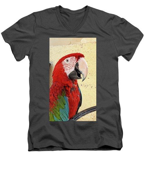 Who Is A Pretty Boy Then ? Men's V-Neck T-Shirt