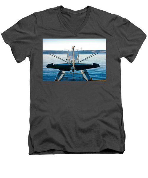 Wild Blue Men's V-Neck T-Shirt