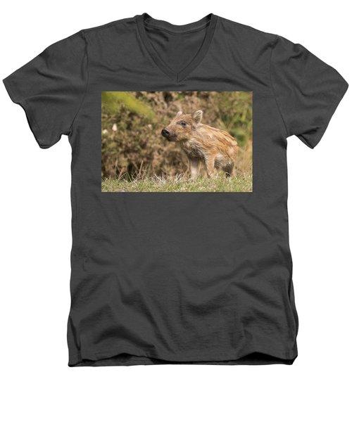 Wild Boar Humbug Men's V-Neck T-Shirt