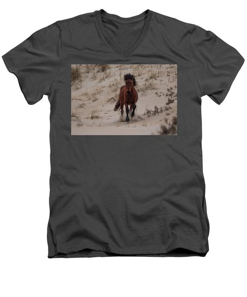 Wild Pony Men's V-Neck T-Shirt