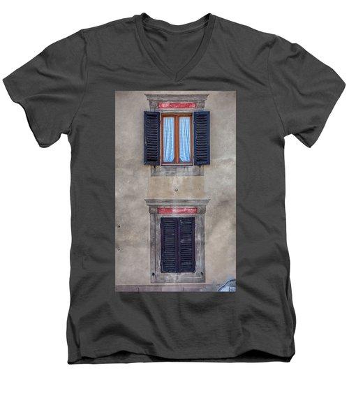 Windows Of Montalcino Men's V-Neck T-Shirt