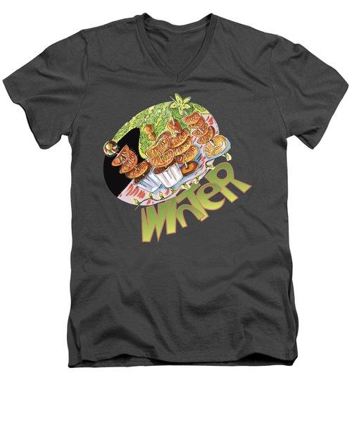 Winter Snack Men's V-Neck T-Shirt