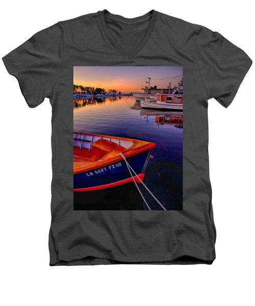 Wooden Boats Men's V-Neck T-Shirt