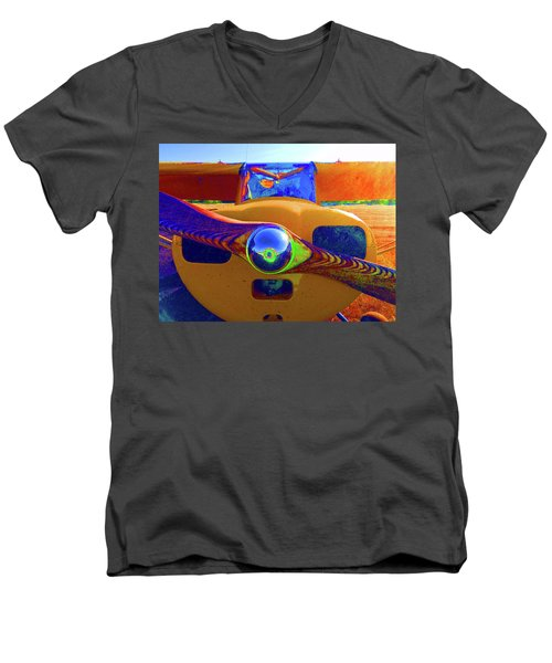 Wooden Prop Men's V-Neck T-Shirt