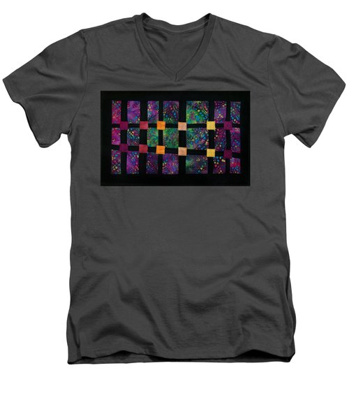 Xyla-nebula-phone Men's V-Neck T-Shirt