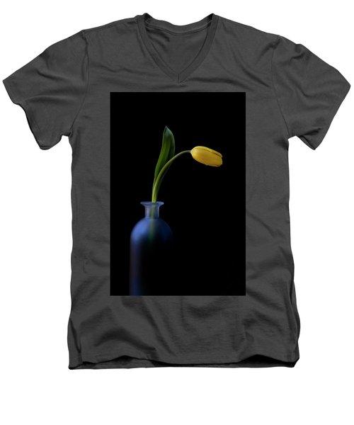 Yellow Tulip Men's V-Neck T-Shirt