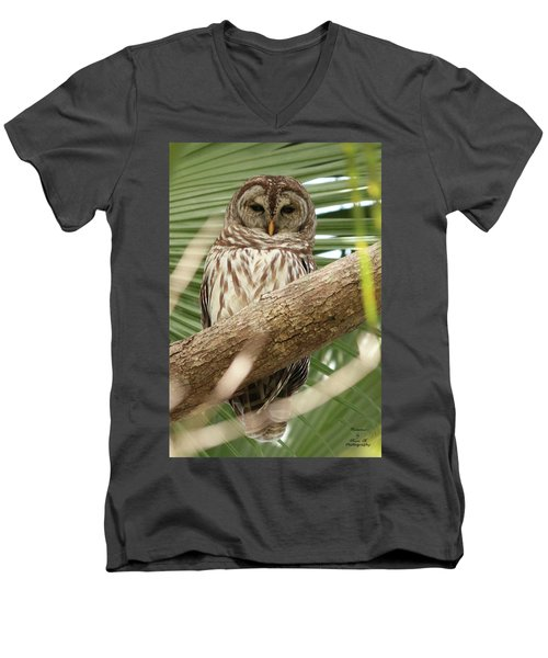 Somebody's Watching Me Men's V-Neck T-Shirt
