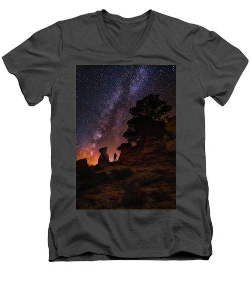 Zion Men's V-Neck T-Shirt