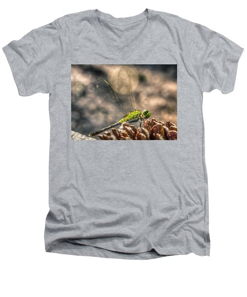 Erythemis Simplicicollis Men's V-Neck T-Shirt