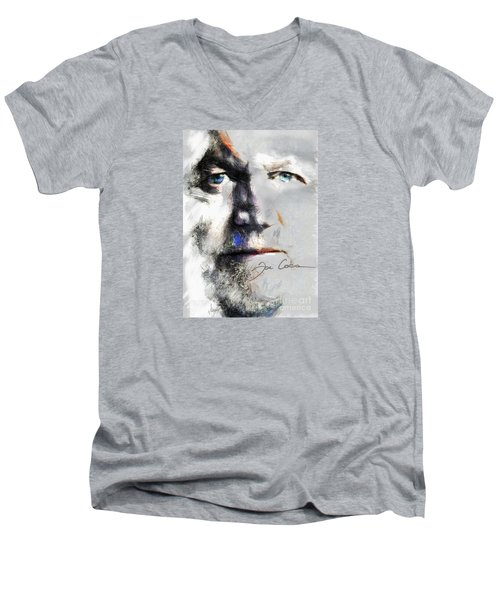 Joe Cocker - Hymn For My Soul     Men's V-Neck T-Shirt