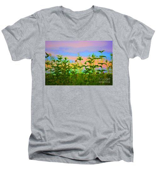 Meadow Magic Men's V-Neck T-Shirt