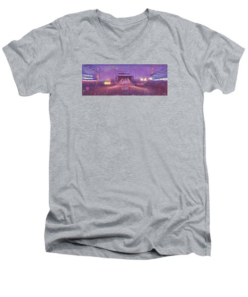 Phish At Dicks Men's V-Neck T-Shirt by David Sockrider