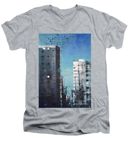 Rotterdam Men's V-Neck T-Shirt