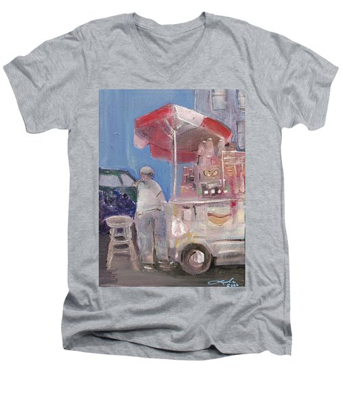 Stand On The Corner Men's V-Neck T-Shirt