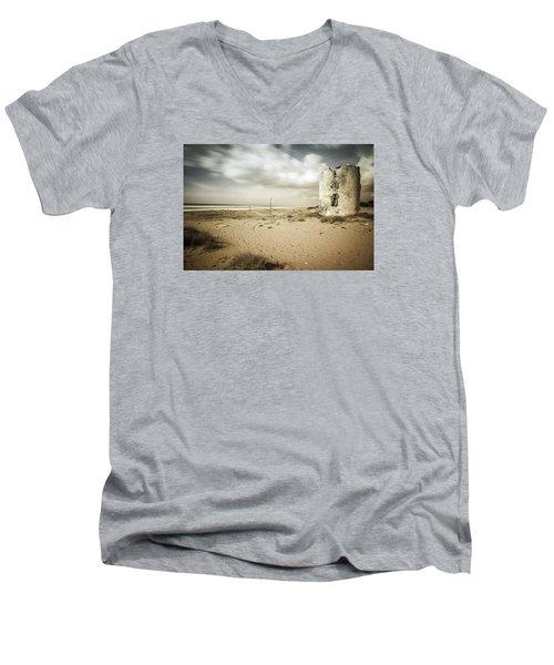 ... Men's V-Neck T-Shirt by Stavros Argyropoulos