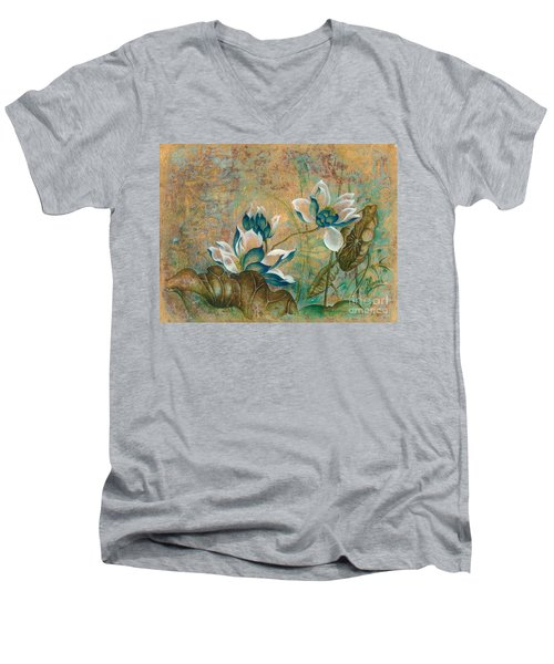 The Turquoise Incarnation Men's V-Neck T-Shirt