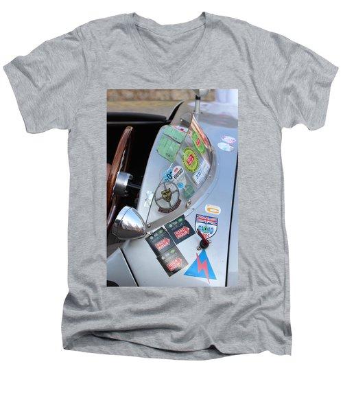 Windscreen Sticker Men's V-Neck T-Shirt
