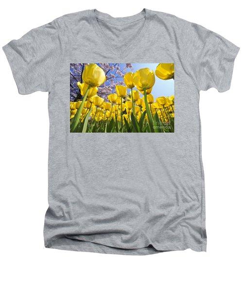 090416p030 Men's V-Neck T-Shirt