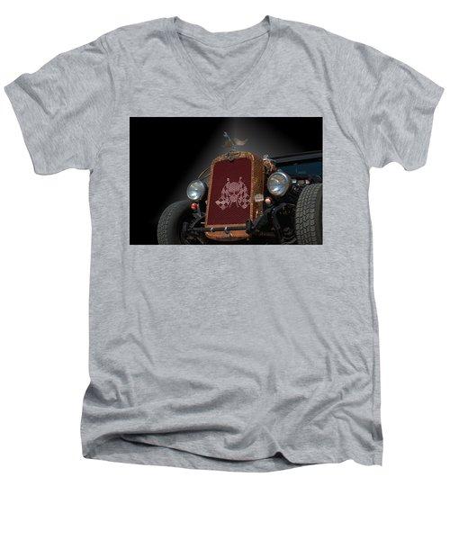 1931 Nash Coupe Hot Rod Men's V-Neck T-Shirt