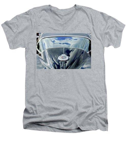 1967 Chevrolet Corvette Rear Emblem Men's V-Neck T-Shirt