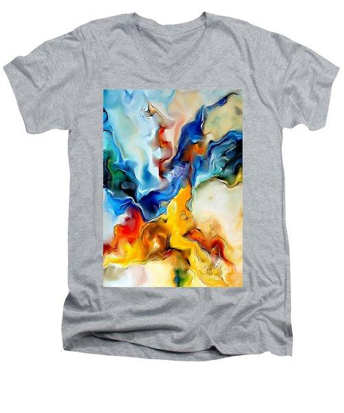 Abstraction 599-11-13 Marucii Men's V-Neck T-Shirt