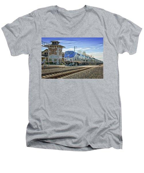 Amtrak 112 Men's V-Neck T-Shirt