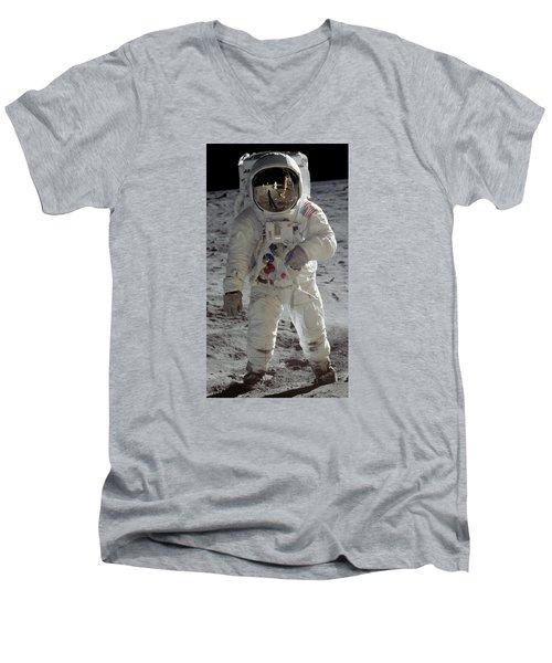 Apollo 11 Men's V-Neck T-Shirt