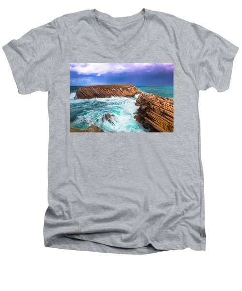 Baleal Men's V-Neck T-Shirt