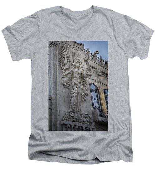 Bass Hall Angel Men's V-Neck T-Shirt