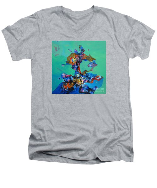 Beauty Of Nature Sold Out Men's V-Neck T-Shirt by Sanjay Punekar