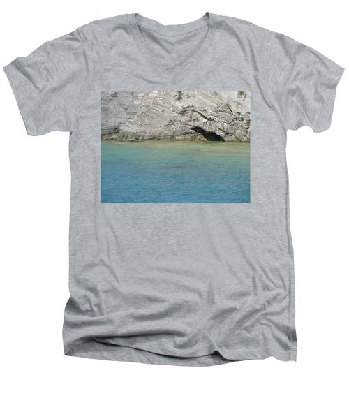 Bermuda Cave Men's V-Neck T-Shirt