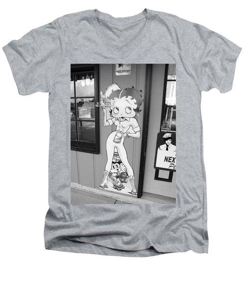 Betty Boop 3 Men's V-Neck T-Shirt