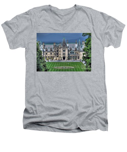 Biltmore House Men's V-Neck T-Shirt