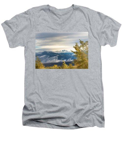 Blacktooth Men's V-Neck T-Shirt