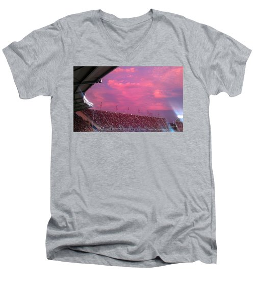 Bryant-denny Painted Sky Men's V-Neck T-Shirt
