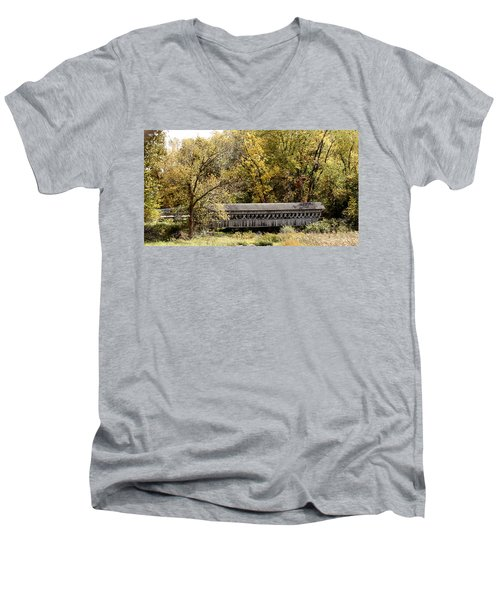 Buckeye Lake Ohio Men's V-Neck T-Shirt