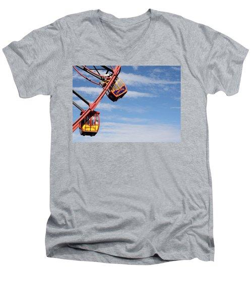 Carousel Twist Men's V-Neck T-Shirt